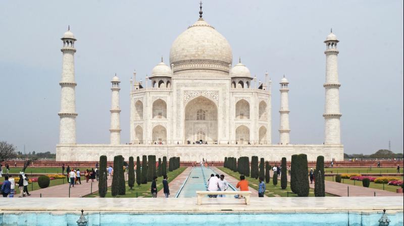 India withdraws plan to reopen Taj Mahal. (AFP Photo)