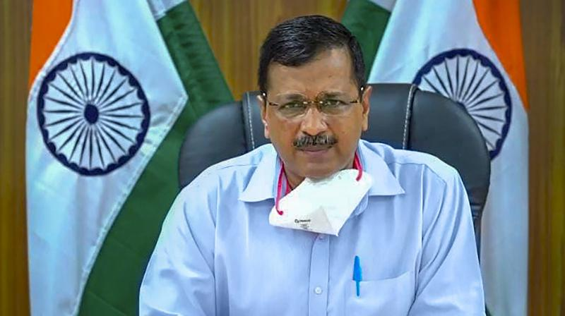 Delhi Chief Minister Arvind Kejriwal. (PTI Photo)