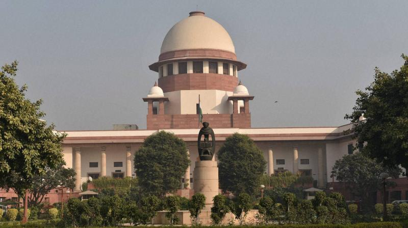 SC rejects plea alleging bias in listing of cases. (PTI Photo)