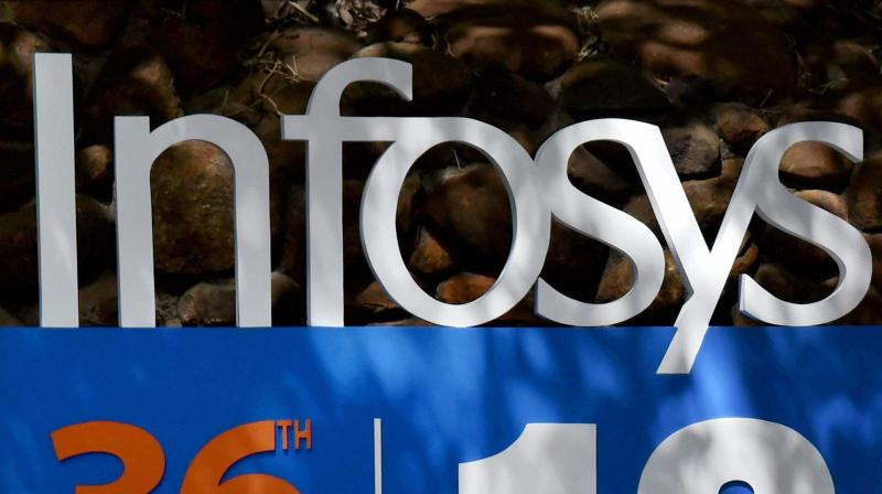 Infosys brings back over 200 employees, their families from US via chartered flight. (PTI Photo)
