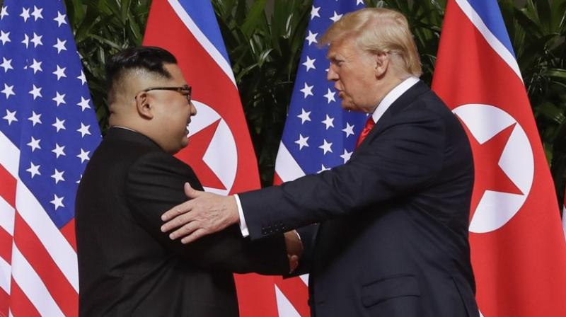 North Korea on Tuesday, July 7, 2020, repeated it has no immediate intent to resume dialogue with the United States hours before U.S. Deputy Secretary of State Stephen Biegun was to arrive in South Korea for discussions on the stalled nuclear diplomacy. (AP Photo)
