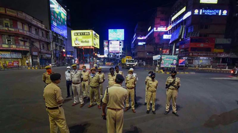 Patna district administration on Wednesday announced a lockdown in the city. (PTI Photo)