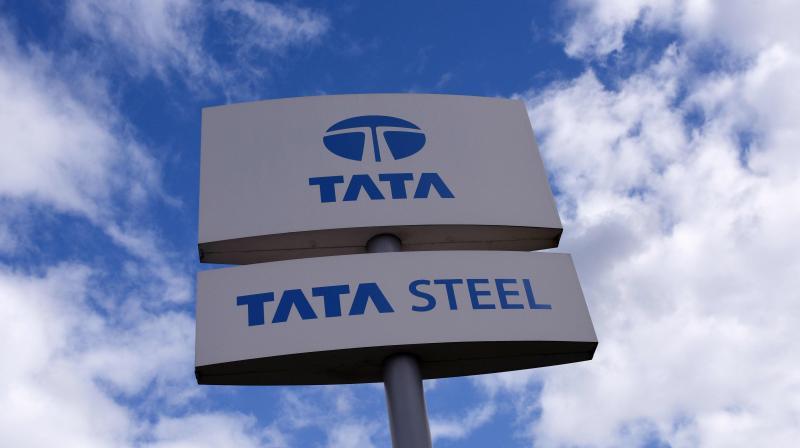 Tata Steel sales fall 23 pc to 5.28 MT in Apr-Jun qtr; output down 28.49 pc. (PTI Photo)