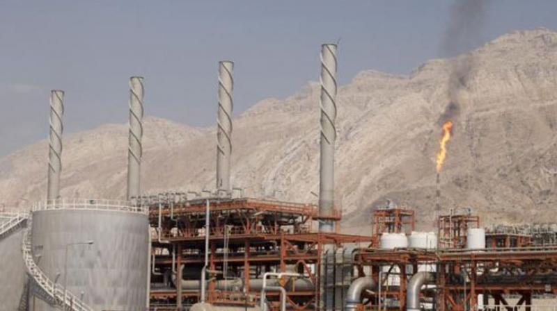 Iran is determined to develop its oil industry in spite of U.S. sanctions imposed on the country. (AFP Photo)