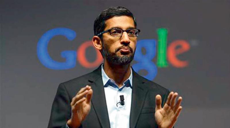 Google CEO Sundar Pichai. (AP Photo)