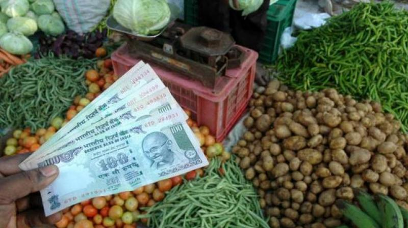 India's retail inflation picked up in June, pushed by price increases for some food and fuel items. (PTI Photo)