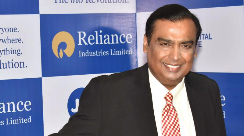 Mukesh Ambani on Wednesday said his group's planned stake sale in oil-to-chemical business to Saudi Aramco. (PTI Photo)