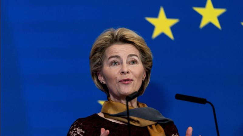 European Commission President Ursula von der Leyen. (AFP Photo)