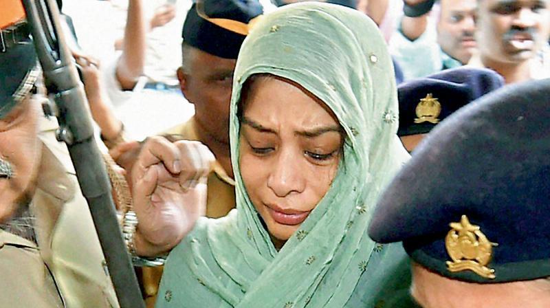 Indrani Mukerjea, main accused in the Sheena Bora murder case. (PTI Photo)