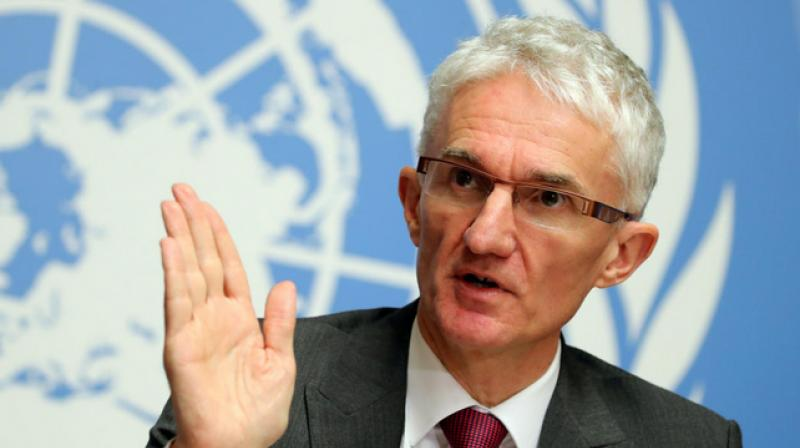 U.N. aid chief Mark Lowcock said on Thursday as he asked wealthy countries for billions more dollars in assistance. (Photo- Twitter)