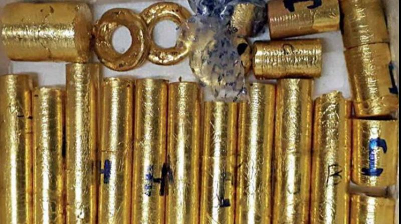 The UAE Mission has extended all cooperation to the Customs Authorities in gold smuggling racket and examining the said consignment. (Photo- Twitter)