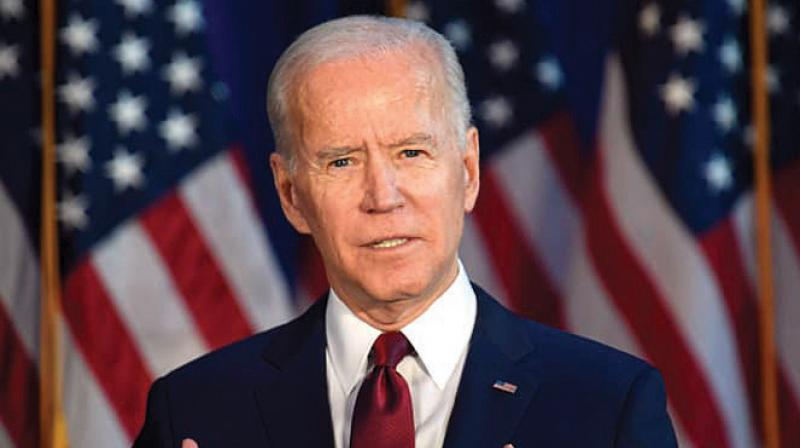 Joe Biden , Former Vice President of the United States. (AFP Photo)