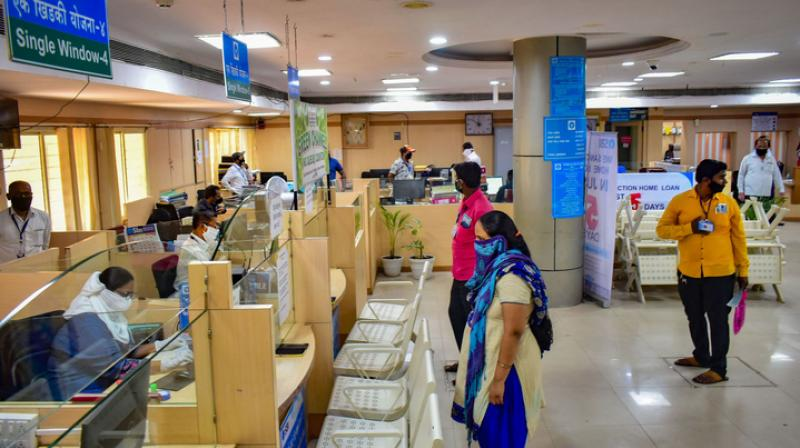 Bank employee unions presses again for 5-day working week. (PTI Photo)