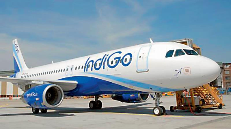 IndiGo said it will cut 10% of its workforce as it grapples with declining revenues due to the fallout from the COVID-19 pandemic. (PTI Photo)