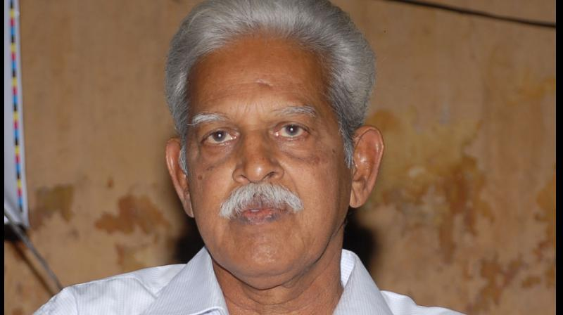 Jailed poet and activist P Varavara Rao. (PTI)