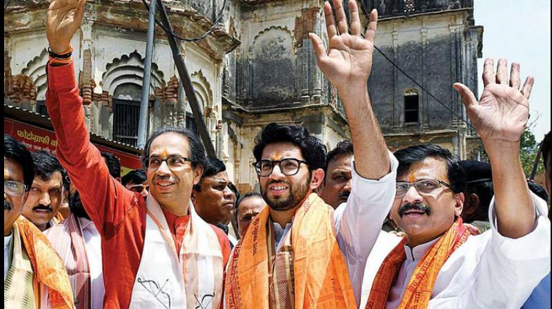 Maharashtra Chief Minister and Shiv Sena president Uddhav Thackeray will definitely go for Ram temple bhoomi pujan, said party MP Sanjay Raut. (PTI Photo)