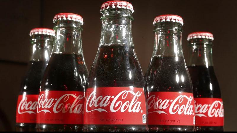 The Coca-Cola Company on Tuesday reported a 16 per cent decline in its unit case volume for the second quarter. (AP Photo)