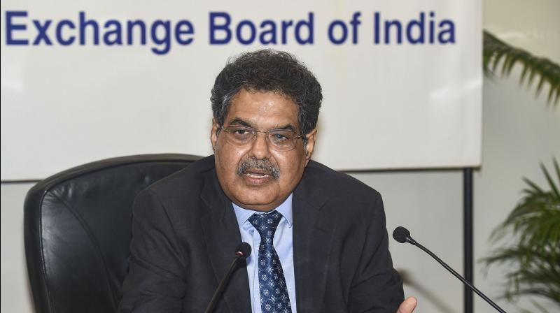 SEBI Chairman Ajay Tyagi said that spike in equity market retail participation seen since lockdown. (PTI Photo)