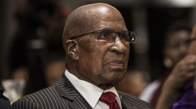 South African anti-apartheid figure Andrew Mlangeni dies at the age of 95. (Photo- AFP)