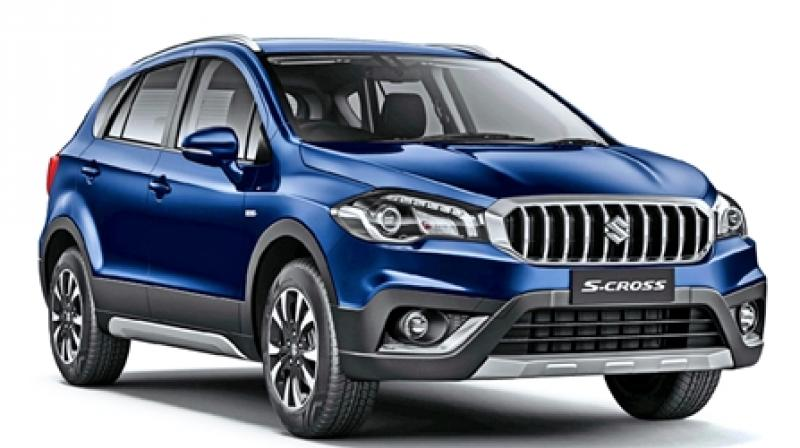 Maruti commences bookings for petrol version of S-Cross. (Photo- Carwale)
