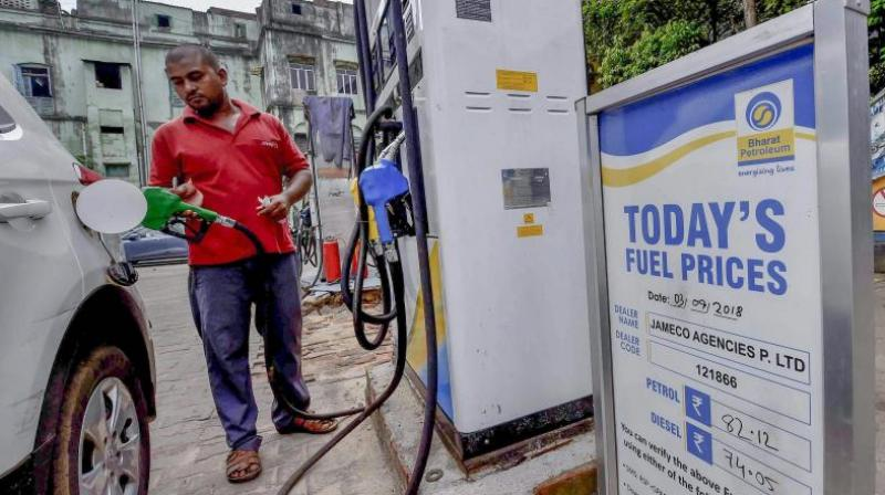 Diesel price nears Rs 82 a litre after 15 paise increase. (PTI Photo)