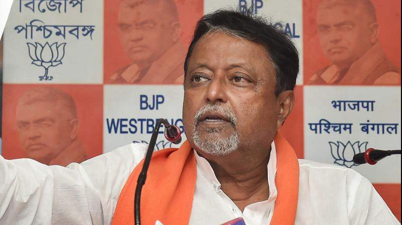 Mukul Roy rubbished speculation on his exit and return to the Trinamul Congress. (PTI Photo)