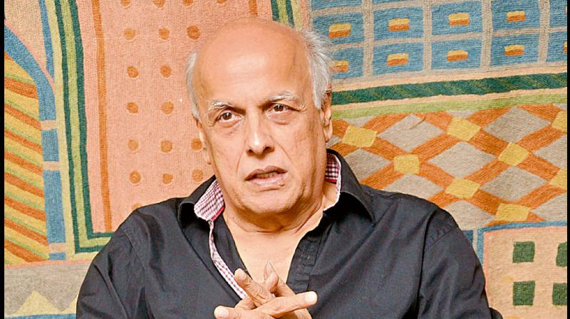 Police recorded statement of filmmaker Mahesh Bhatt on Monday. (DC Photo)