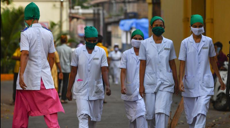 Brihanmumbai Municipal Corporation (BMC) has not paid salary and special daily allowance to 209 newly-hired nurses. (AFP Photo)