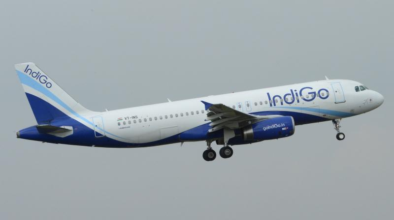 IndiGo announces 'deeper' pay cuts of up to 35 per cent for senior employees. (AFP Photo)