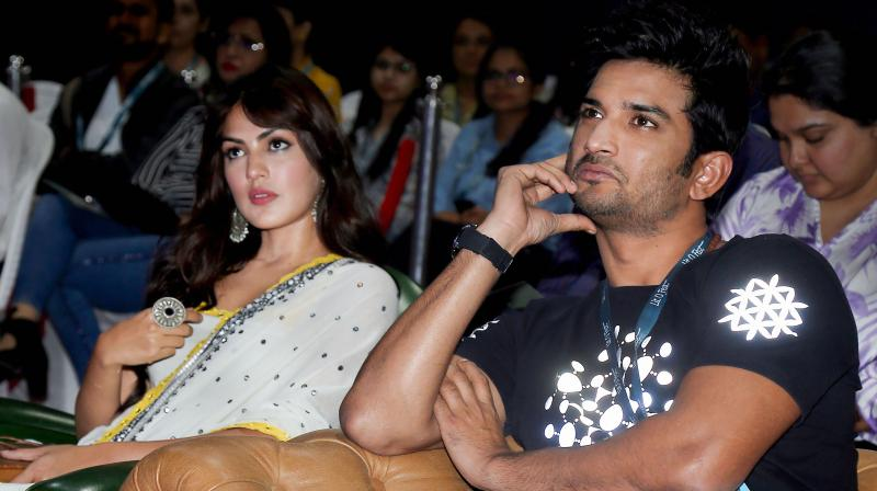 Sushant's father accuses actor Rhea Chakraborty of abetting his son's suicide. (PTI Photo)