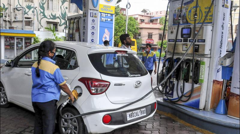 The diesel price reduced by Rs 8.36 in Delhi due to the VAT cut. (PTI Photo)