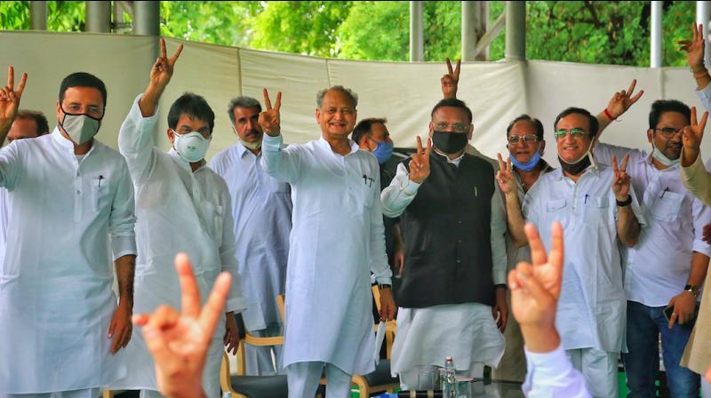Ashok Gehlot camp MLAs to be shifted to Jaisalmer. (PTI Photo)