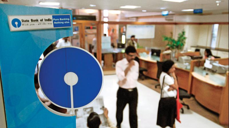 SBI's Q1 profit surges 81 pc to Rs 4,189 crore. (PTI Photo)