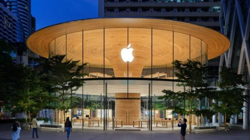 Apple surpassed oil giant Saudi Aramco to become the world's most valuable publicly traded company. (ANI Photo)