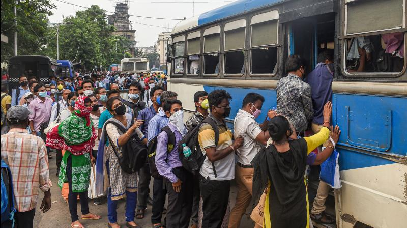 Assam allows inter-district travel on 2 days of week; night curfew, weekend shutdown to continue. (PTI Photo)