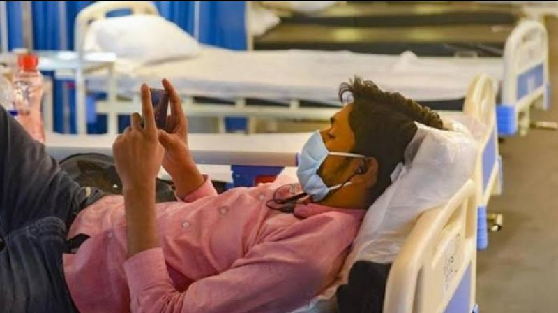 Centre has written to all states and Union Territories stating that smartphones and tablet devices should be allowed for hospitalised COVID-19 patients. (Representative Image)
