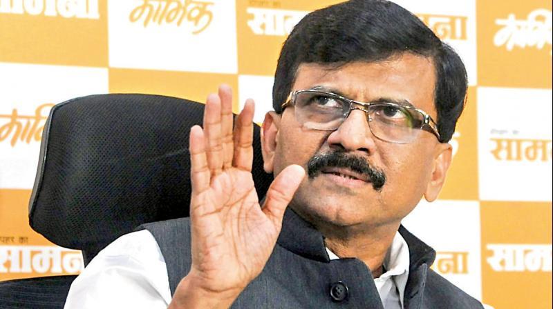 Senior Shiv Sena leader Sanjay Raut has warned that people may seek Prime Minister Narendra Modi's resignation for the failure in tackling the coronavirus. (PTI Photo)