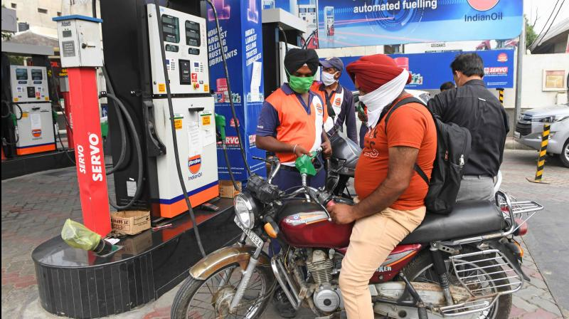 India's fuel demand loses steam, slips in July after two months of gains. (PTI Photo)