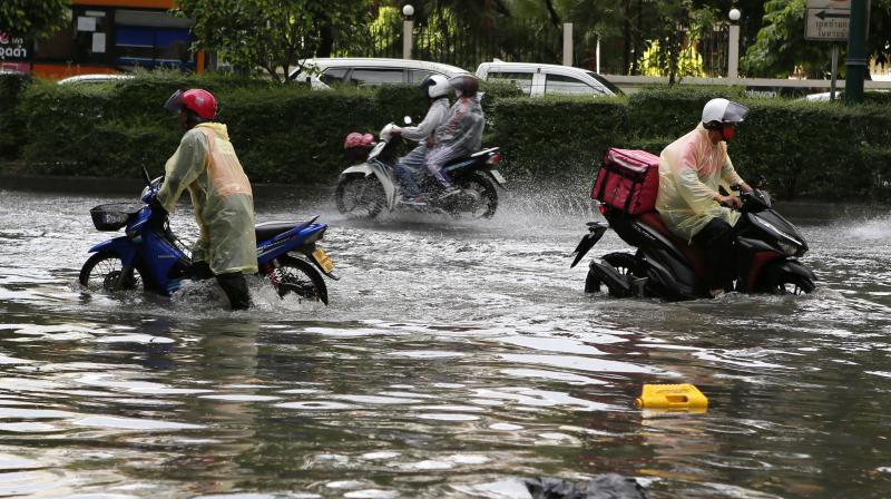 Heavy to very heavy rains in Mumbai for next 48 hours. (PTI Photo)