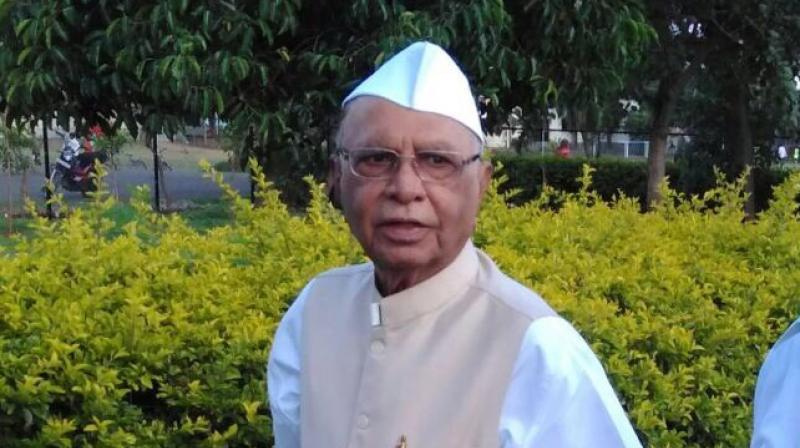 Former CM Shivajirao Patil Nilangekar dead. (Photo- Twitter/@MCPNilaga)