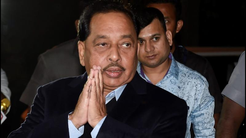 Senior Bharatiya Janata Party (BJP) leader Narayan Rane has made sensational allegations that Sushant Singh Rajput did not die of suicide but was murdered. (PTI Photo)
