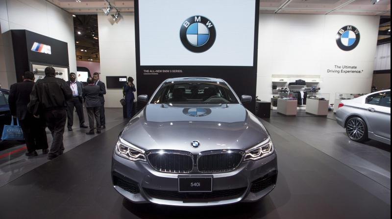 BMW losses almost $800 million as sales slide during lockdowns. (AFP Photo)