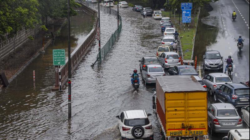 Mumbai city received 100 mm rainfall in six hours, while Palghar district received 460 mm rainfall. (PTI Photo)