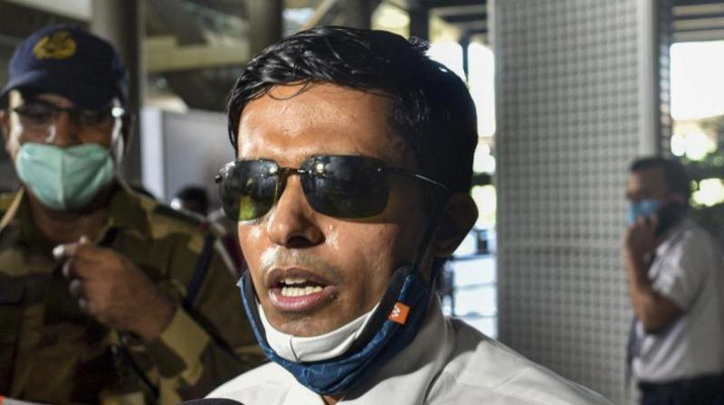 Bihar IPS officer released from quarantine. (PTI Photo)