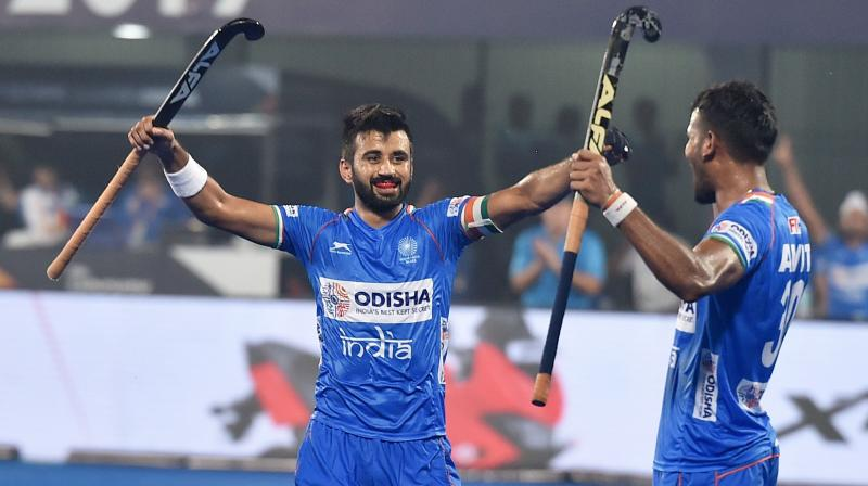 India hockey captain among five to test COVID-19 positive in camp. (PTI Photo)