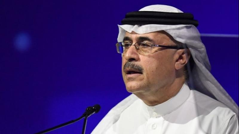 Saudi Aramco chief executive Amin Nasser. (AFP Photo)