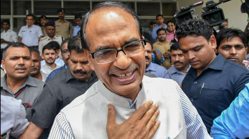 Madhya Pradesh chief minister Shivraj Singh Chouhan on Tuesday announced that he tested negative for coronavirus. (PTI Photo)