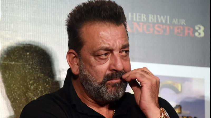 Bollywood actor Sanjay Dutt has been diagnosed with lung cancer. (PTI Photo)
