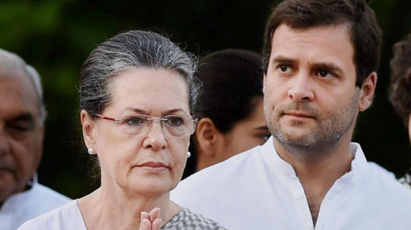 Sonia, Rahul seek withdrawal of EIA 2020. (PTI Photo)