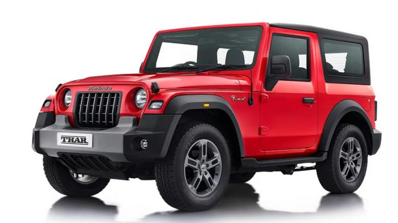Mahindra unveils all new Thar, launch on October 2. (Photo- AutoMahindra)